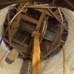 Le mécanisme à engrenage du moulin