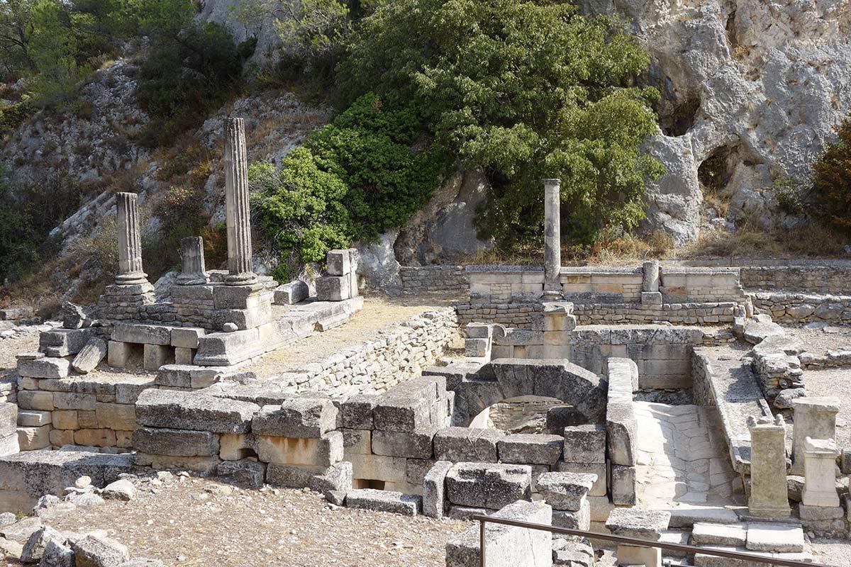 25 septembre 2017 – le site archéologique de Glanum