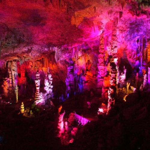 Grotte de la salamandre : la grande salle