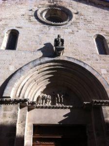 Notre-Dame de Malpas - le tympan