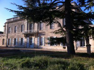 Le château de Montfrin