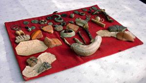 Planche archéologique