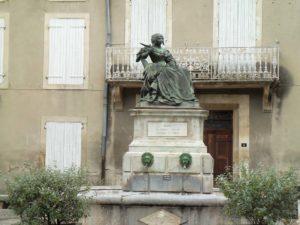 Statue de Mme Sévigné
