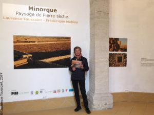 Laurence Toussaint - Minorque - Paysage de pierre sèche