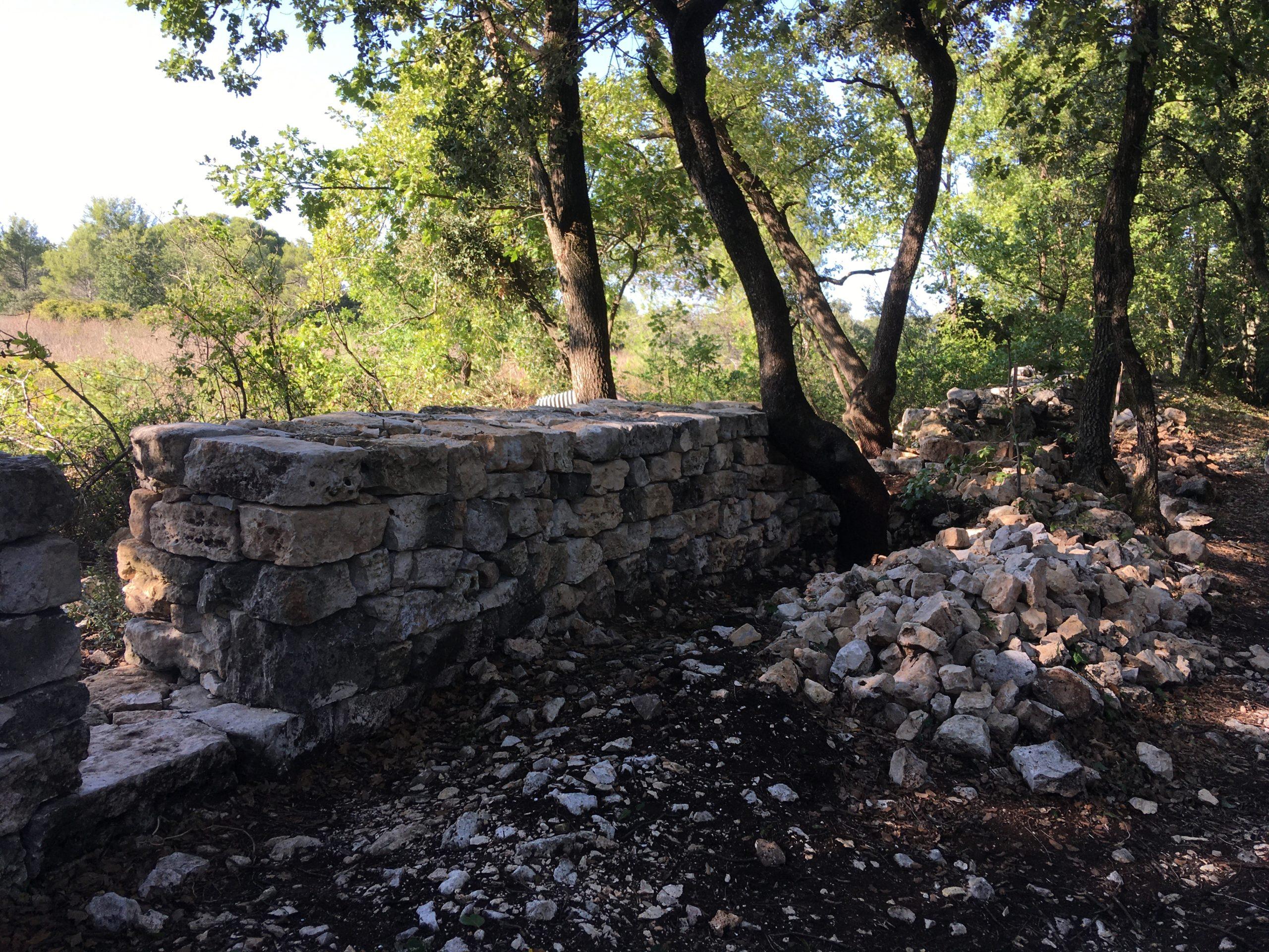 Chantier pierre sèche – 27 septembre 2020